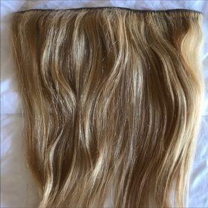 Human hair 16inch hidden halo